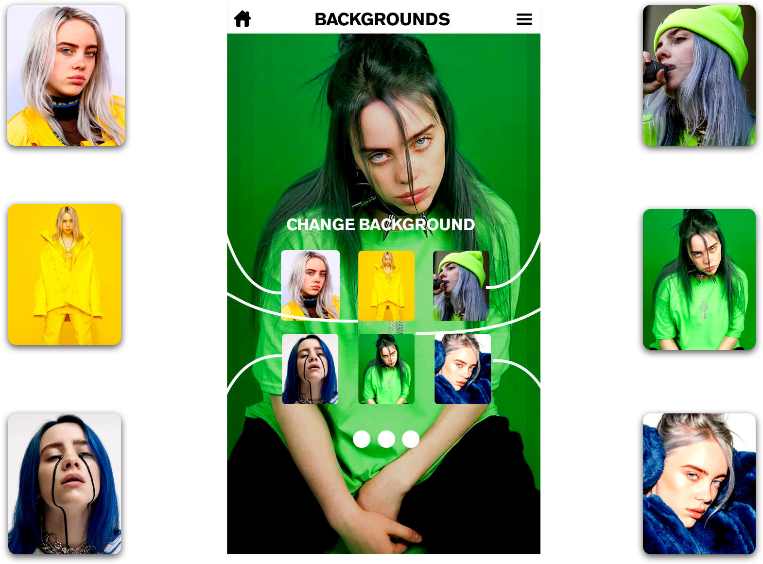 Paul Yanez Billie Eilish Color Shoot Game developed by Father and Daughter