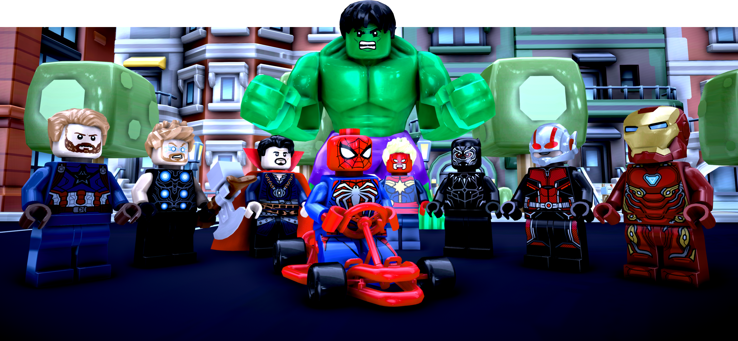 Paul Yanez Lego Kart Featuring the Avengers created by Indie Developer